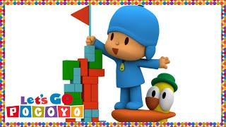getlinkyoutube.com-Let's Go Pocoyo! - The Amazing Tower [Episode 17] in HD