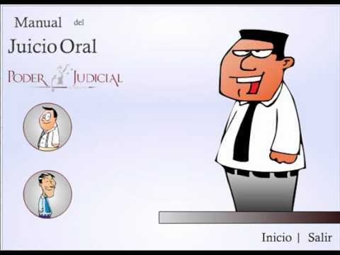 Demo Manual De Juicio Oral Animado