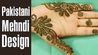 getlinkyoutube.com-Traditional PAKISTANI MEHNDI DESIGNS - 2016 (Video Tutorial )