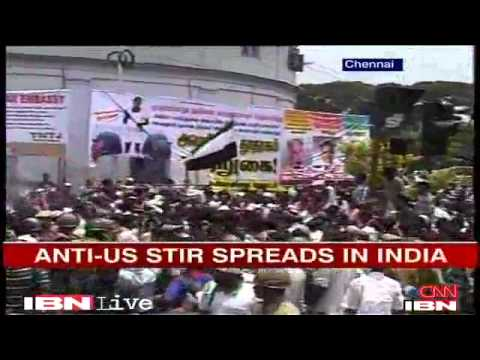 Innocence of Muslims-Anti Islamic film Protests against US continue in Chennai- IBN LIVE