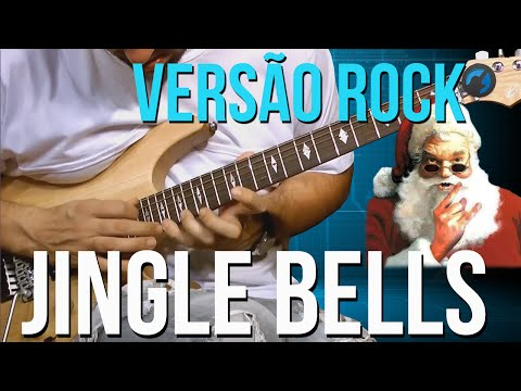 Jingle Bells - Vers�o Rock (como tocar - aula de guitarra)