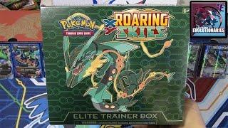 getlinkyoutube.com-Pokemon Cards- Roaring Skies Mega Rayquaza Elite Trainer Box Opening!
