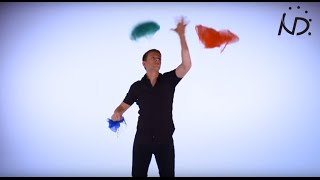 getlinkyoutube.com-Tutorial How to get started at Juggling, Three Scarves