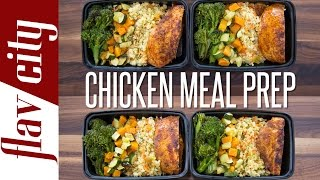 getlinkyoutube.com-Chicken Meal Prep – How To Meal Prep Chicken ($5 per meal) – FlavCity with Bobby
