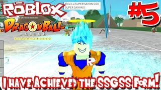 getlinkyoutube.com-I Have Achieved the SSGSS Form! | Roblox: Dragon Ball Online - Episode 5