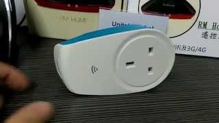 getlinkyoutube.com-[聯動IFTTT示範] Broadlink SP 2 x e-Air A 1 x RM Home Pro 2 - Unitek Global Ltd.