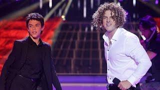 getlinkyoutube.com-Daniel Diges y José Luis imitan a David Bisbal y Luis Fonsi en Tu cara me suena Mini