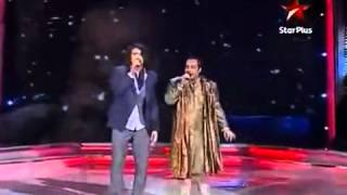 sonu   rahat singing tujhe dekh dekh sona mp4