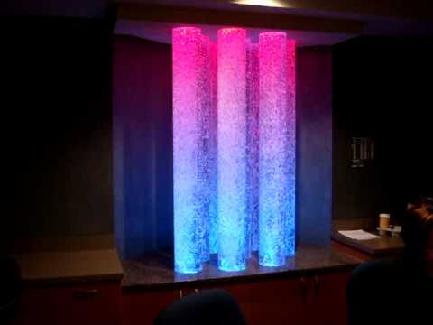 Custom Bubble Columns, Color Changing LEDs, Columbia, Maryland