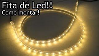 getlinkyoutube.com-Fita de Led - Como Preparar - Mounting Strip LED