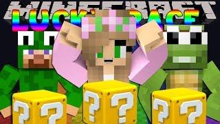 getlinkyoutube.com-Minecraft Little Kelly : LUCKY BLOCK RACE W/LittleLizardG & TinyTurtleG