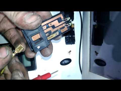 Daewoo Matiz - Ремонт кнопки обогрева заднего стекла.