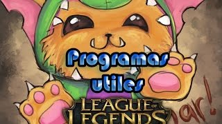 getlinkyoutube.com-3 Programas utiles para Lol