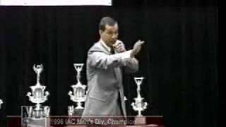 Greg Rice, CAI, 1996 International Auctioneer Champion