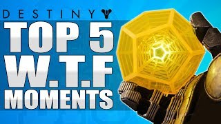 "getlinkyoutube.com-Destiny: First Ever ""EXOTIC ENGRAM"" Drop - Top 5 WTF Moments / Epsiode 65"