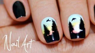 getlinkyoutube.com-Рисунок на ногтях | Легко и быстро | Дизайн ногтей | MixStyleCappuccino NailArt