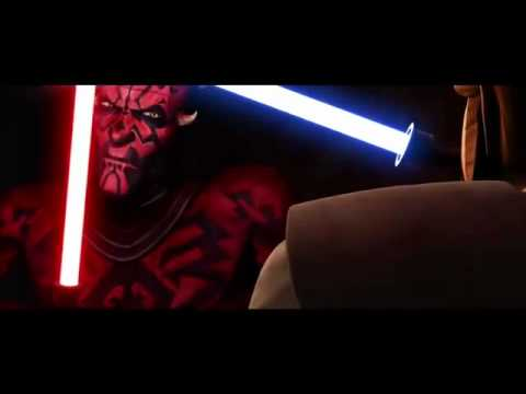 Star Wars the Clone Wars: Darth Maul vs. Obi-Wan Kenobi preivew