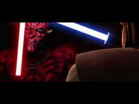 Star Wars the Clone Wars: Darth Maul vs. Obi-Wan Kenobi preivew