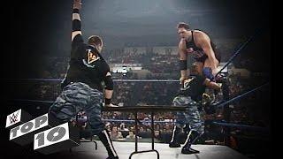getlinkyoutube.com-The Dudley Boyz' Table Rampages: WWE Top 10
