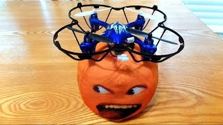 getlinkyoutube.com-The Stupid Orange In Trains And Drones