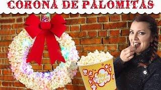 getlinkyoutube.com-Corona Navideña de Palomitas :: Chuladas Creativas