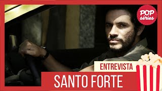 Coletiva de imprensa Santo Forte - AXN