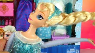 getlinkyoutube.com-❤ Disney Frozen Princess Singing Elsa doll ❤ Anna & Elsa's Royal Closet ❤ Una aventura congelada
