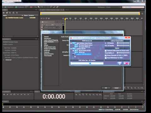 hear yourself while recording on adobe audition CS5