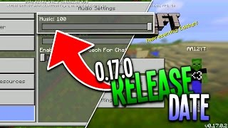 getlinkyoutube.com-MCPE 0.17.0 RELEASE DATE DISCUSSION! - Music Confirmed in 1.0 - Minecraft Pocket Edition