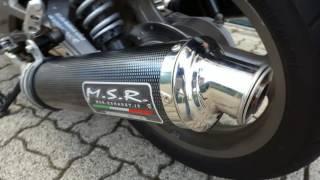 MSR Test Sound - Moto Guzzi Breva V750