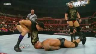 getlinkyoutube.com-Randy Orton vs. Triple H (25th Anniversary of WrestleMania Rewind) 2/2 - 3/15/10