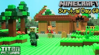 getlinkyoutube.com-Lego Minecraft Survival 60