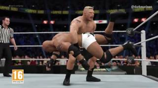 Spot TV WWE 2K17 Neox Goldberg vs. Brock Lesnar