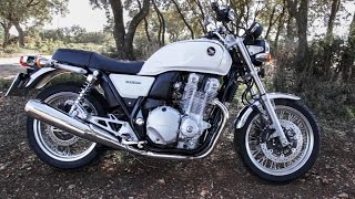 Honda CB1100 EX exhaust acceleration sound, WITHOUT background music