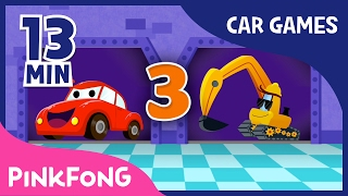 getlinkyoutube.com-Vroom Vroom Cars Special | Best Car Games for Kids | + Compilation | Pinkfong Songs for Children