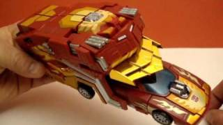 getlinkyoutube.com-PROTECTOR ARMOR BY FANSPROJECT - TRANSFORMERS HOT ROD UPGRADE ACCESSORY TOY REVIEW