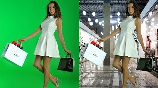 getlinkyoutube.com-Fashion Photography workshop - Tips how-to make GREAT model photos on Green Screen Studio Chroma key