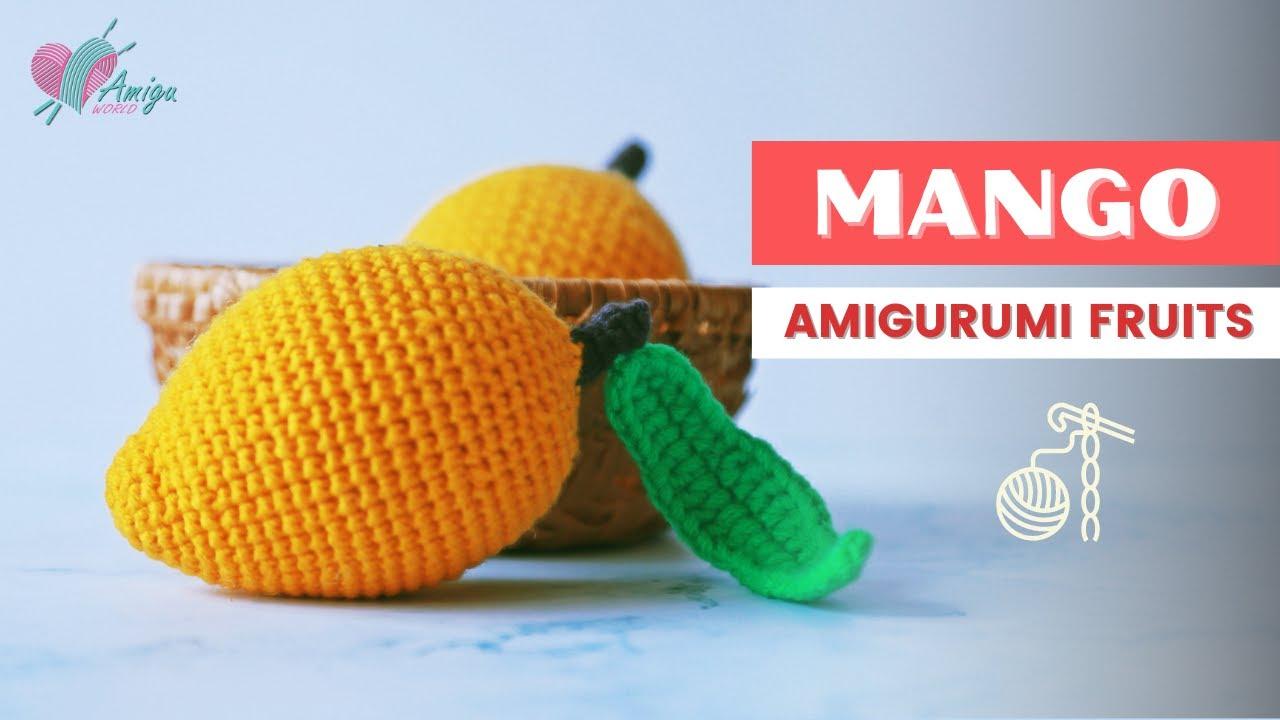 FREE Pattern – Crochet a MANGO amigurumi tutorial for beginner