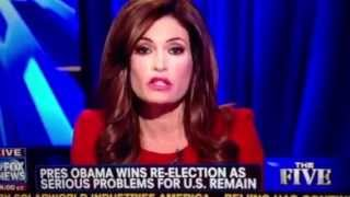 getlinkyoutube.com-Fox News the Five Obama victory reaction