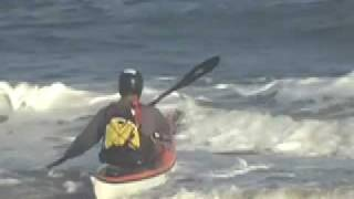 getlinkyoutube.com-How to launch a sea kayak through the surf zone