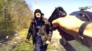 getlinkyoutube.com-Raw Bodycam Video Shows Knife-Wielding Man Shot By Ohio Policeman