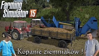 Kopanie ziamniaków & gość ?? ☆ Polska Wieś v2 - Po sąsiedzku #23 FS15 MP ㋡ Bronczek & MafiaSolec
