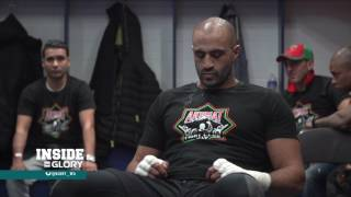 Inside GLORY (segment): Backstage with Rico and Badr, Unfiltered