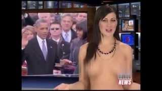 getlinkyoutube.com-Shock khi MC truyền hình khỏa thân đưa tin về tổng thống Obama