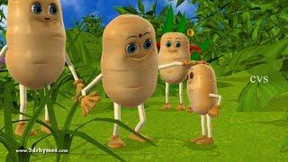 getlinkyoutube.com-Aloo kachaloo Hindi poem - 3D Animation Hindi Nursery rhymes for children (Aalu kachalu beta )