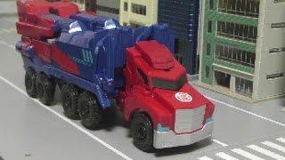 getlinkyoutube.com-đồ chơi lắp ráp robot Transformers Optimus Prime Toys 트랜스포머 옵티머스 프라임 장난감