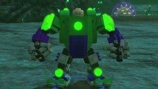 getlinkyoutube.com-LEGO Batman 3 - Lex Luthor Free Roam Gameplay (All Suits)