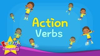 getlinkyoutube.com-Kids vocabulary - Action Verbs - Action Words - Learn English for kids - English educational video
