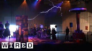 getlinkyoutube.com-Tesla-Powered Band Electrifies Maker Faire