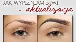 getlinkyoutube.com-Podkreślanie/malowanie Brwi - Aktualizacja | Updated Eyebrow Routine